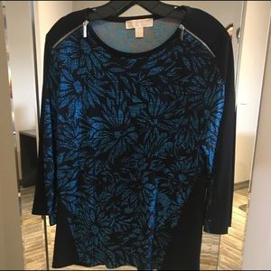 Aegean Blue Michael Kors blouse.